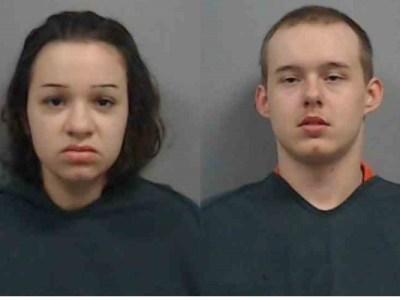 Mary Catherine Bedenbaugh y Brady Lynden Wearn (Newberry County Detention Center)