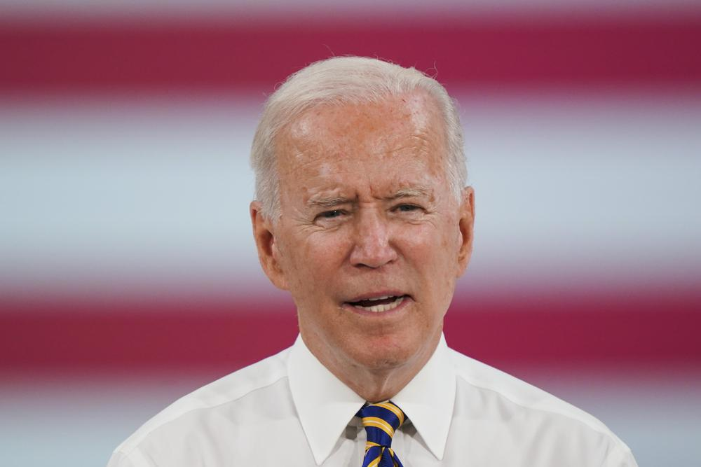 La administración Biden anunció el 29 de julio que permitirá que la moratoria de desalojo expire el sábado 31 de julio. Pide al Congreso que pase legislación para extenderla. Foto AP / Matt Rourke