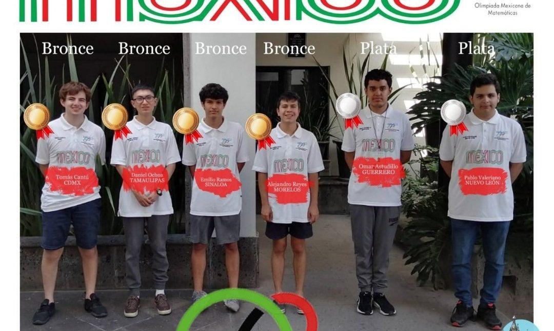 méxico medallas olimpiada matemáticas