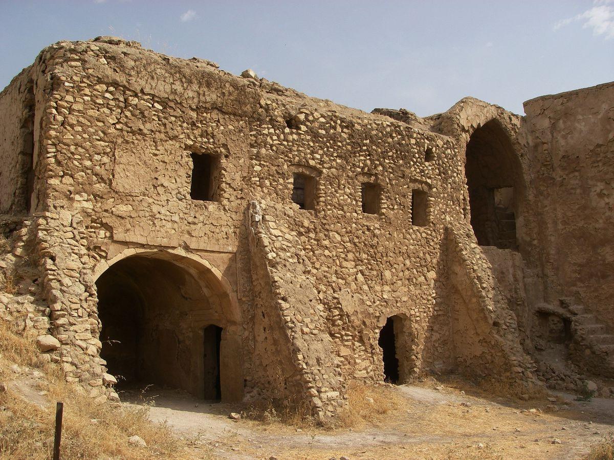 Ruinas arqueológicas en Irak