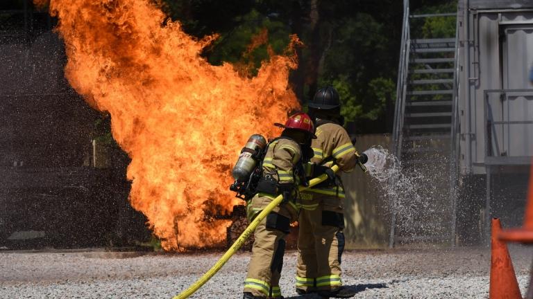 incendio centro raleigh