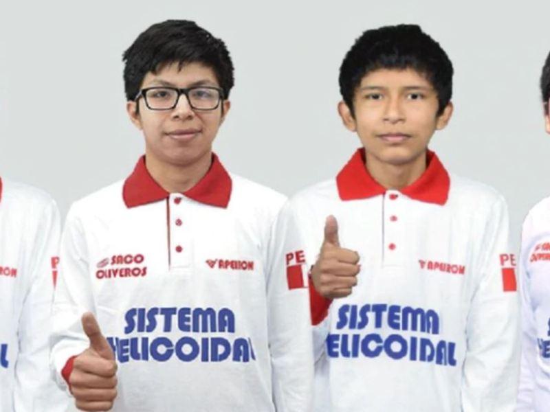 Perú medallas Olimpiada Matemáticas
