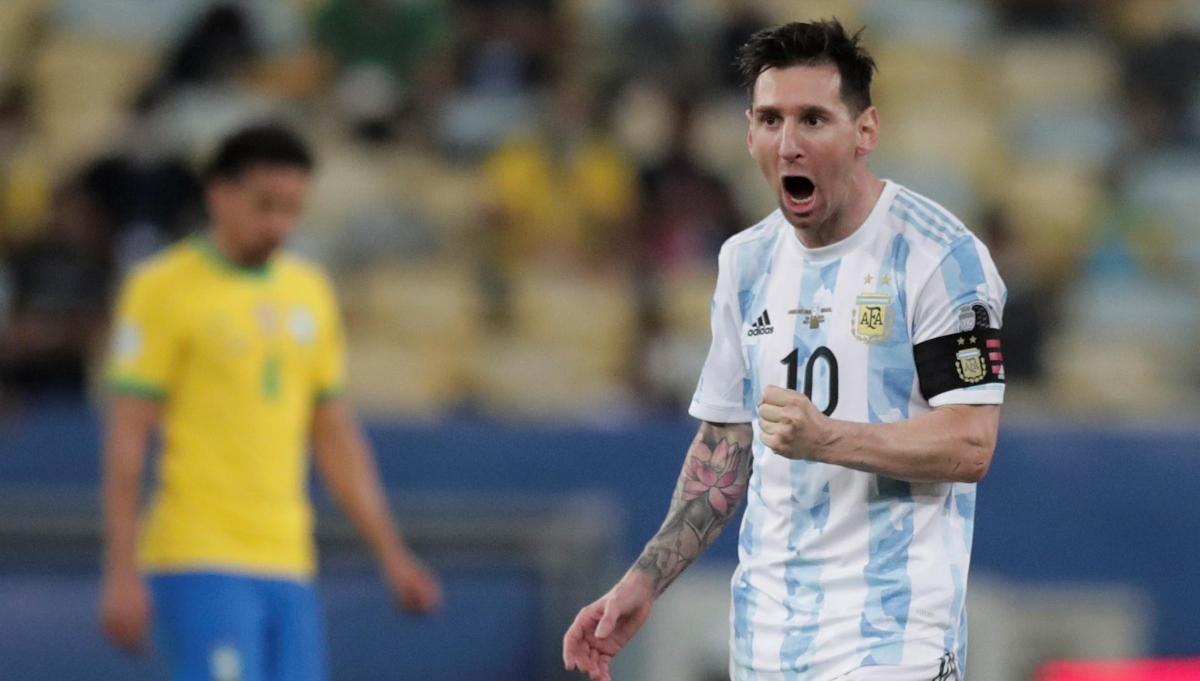 Argentina 1-0 Brasil: Resumen del juego de la Final de la Copa América 2021  - La Noticia
