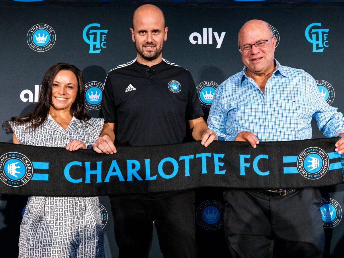 entrenador Charlotte FC