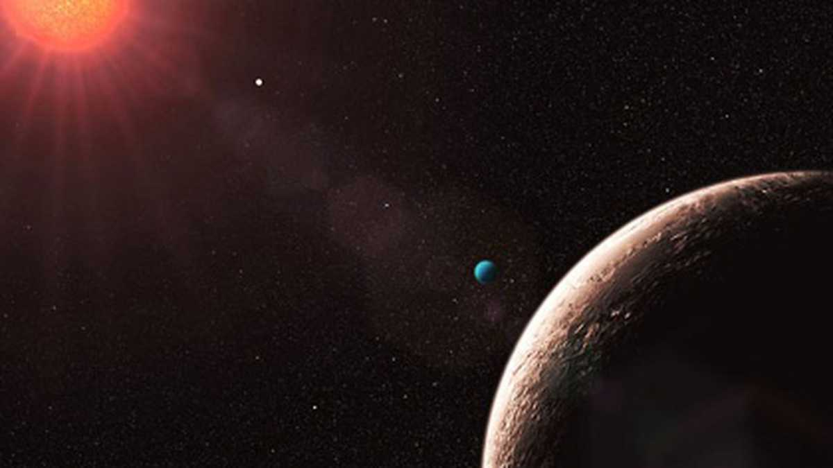 Descubren exoplaneta con atmósfera y océano