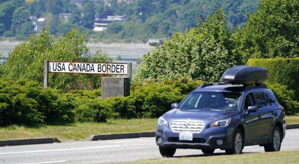 canadá frontera Estados Unidos