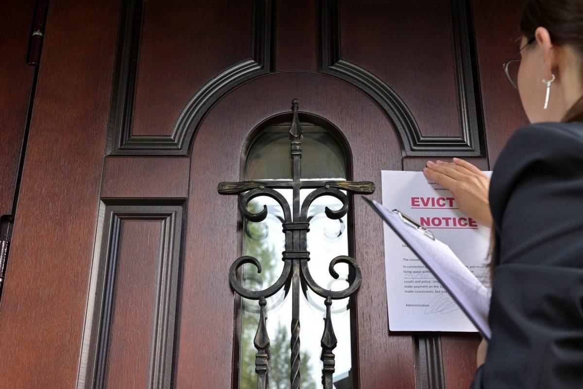 Los CDC emitieron una orden el martes 3 de agosto, que extiende las protecciones para evitar el desalojo de inquilinos hasta octubre. © Вячеслав Думчев / Adobe Stock