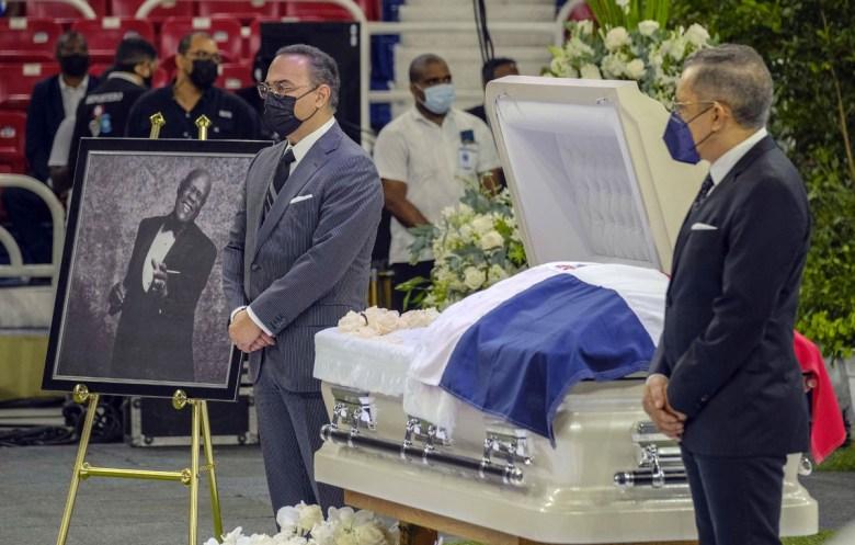 Así fue el funeral de Johnny Ventura