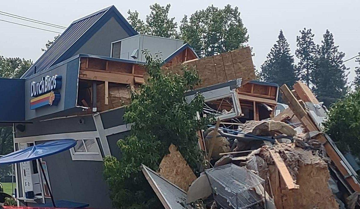 heridos choque spokane
