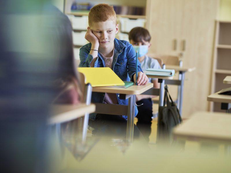 Las escuelas de Henderson no requerirán mascarillas, ofrece escuela virtual el nuevo año. © gpointstudio / Adobe Stock