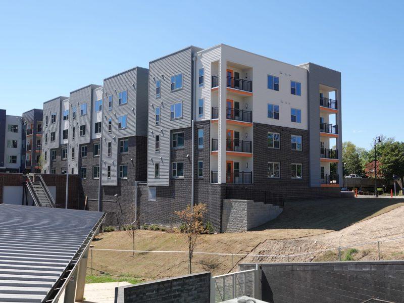 Willard Street Apartments. Foto City of Durham NC