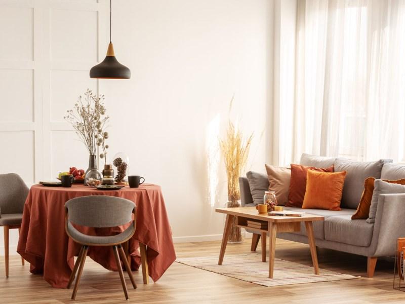 ¿Cómo decorar con colores de otoño?