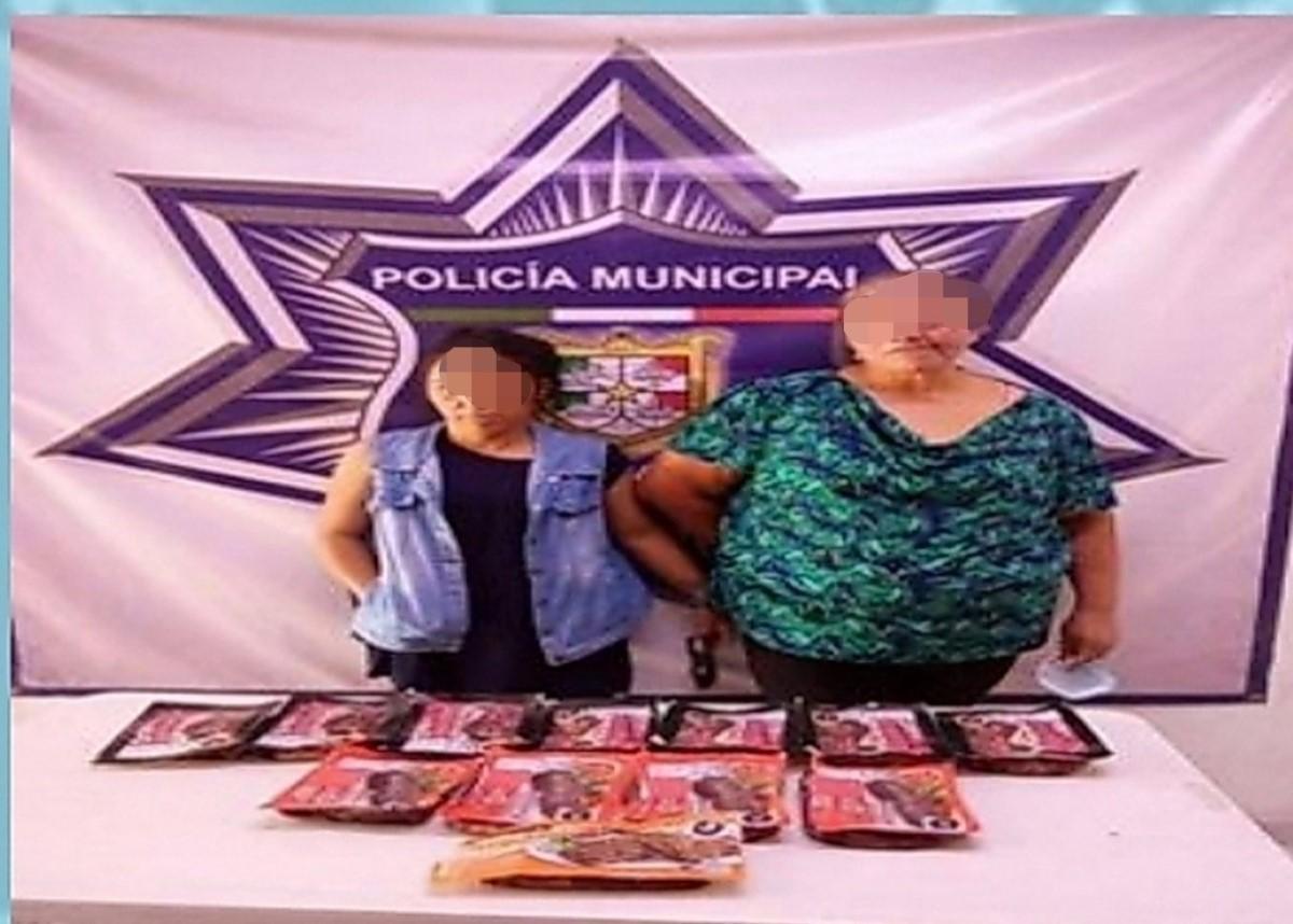 arrestan latinas paquetes arrachera