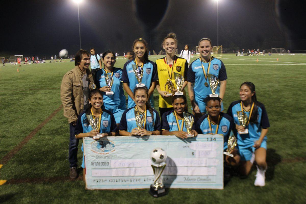 Federación Ecuatoriana de Fútbol se coronó campeón del Torneo Femenino de Liga IASO (Foto: Gustavo Cruz)