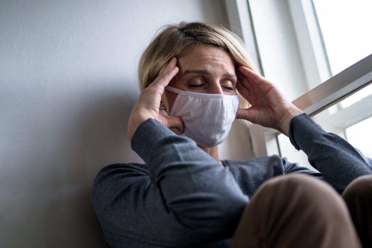 ¿La pandemia afectó su salud mental? Ofrecen consejería gratuita para habitantes de Mecklenburg y Cabarrus. © Halfpoint / Adobe Stock