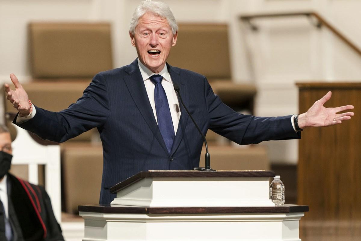 Bill Clinton está hospitalizado por infección