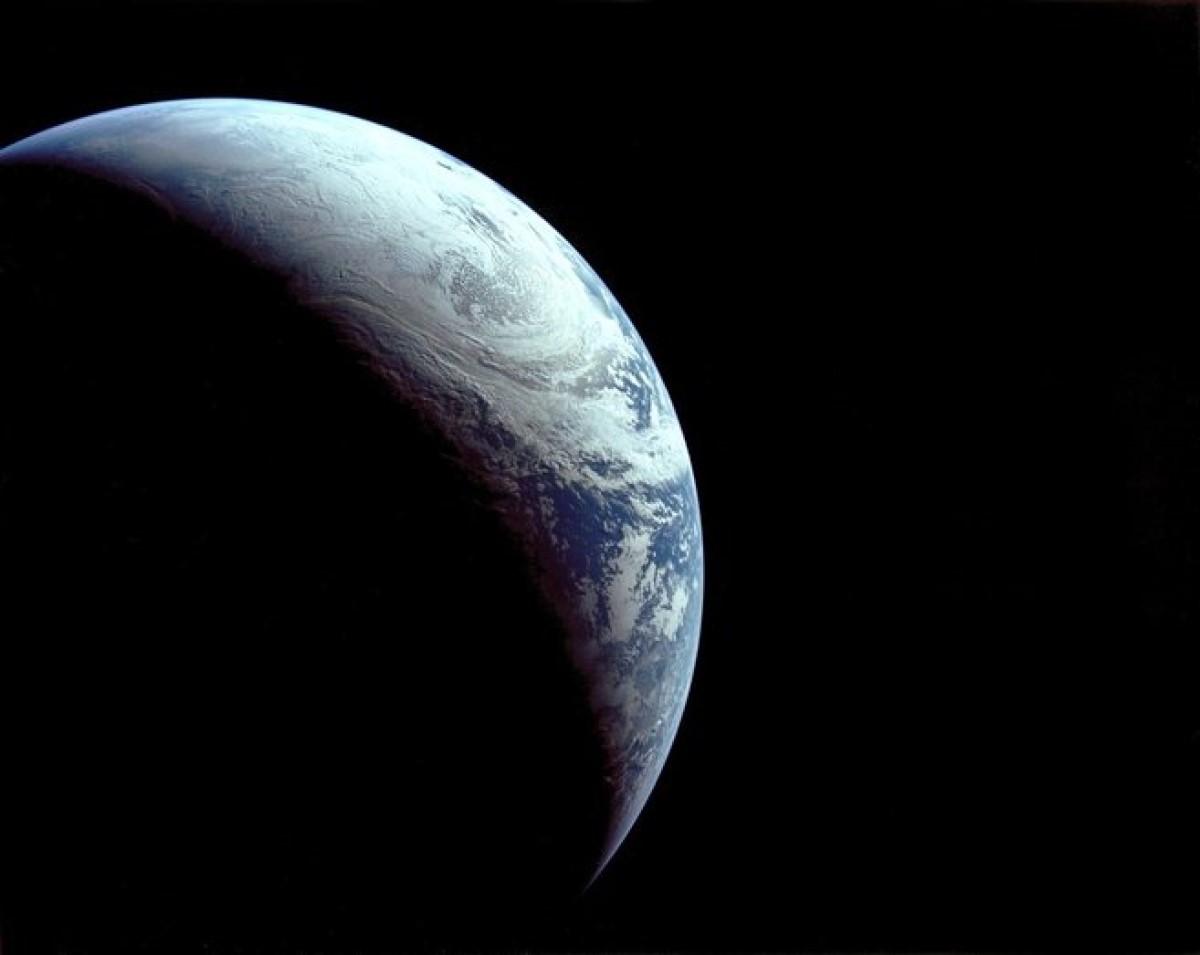 Cambio climático Tierra oscurecerse