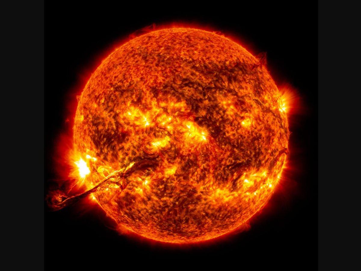 NASA tormenta solar tierra