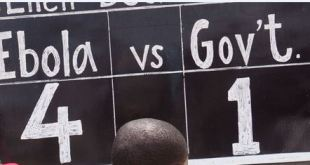 Ebola vs Government