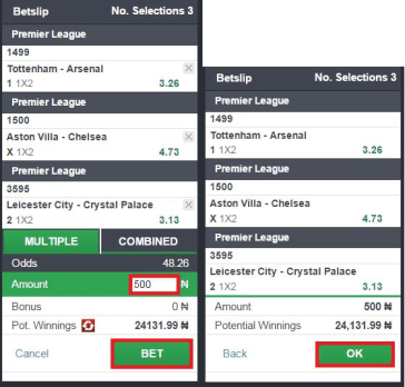 How To Stake Soccer Bets on Bet9ja, NairaBet, BetKing, Surebet, Others