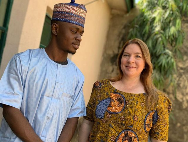 Nigerian, American Instagram Lovers Tie Knot In Kano | Lanre News