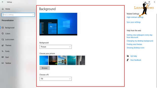 How to Change PC, Laptop Background Theme in Windows 10 | Lanre News