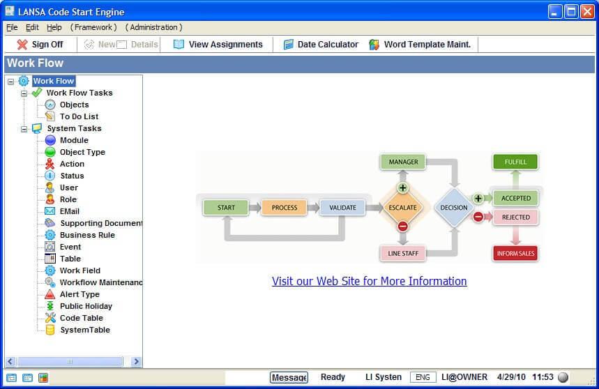 LANSA Workflow