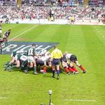 Rugby Union Scrummage