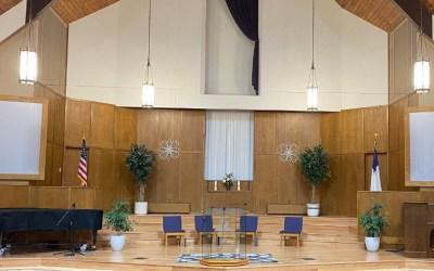 Worship Service Update