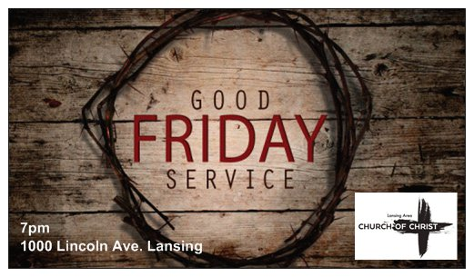 Good Friday Invite