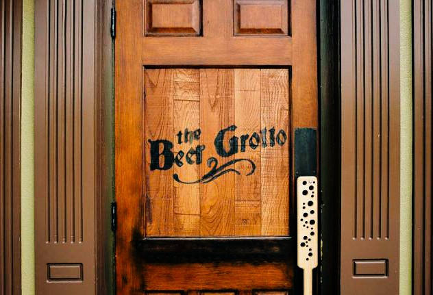 Beer Grotto Front Door