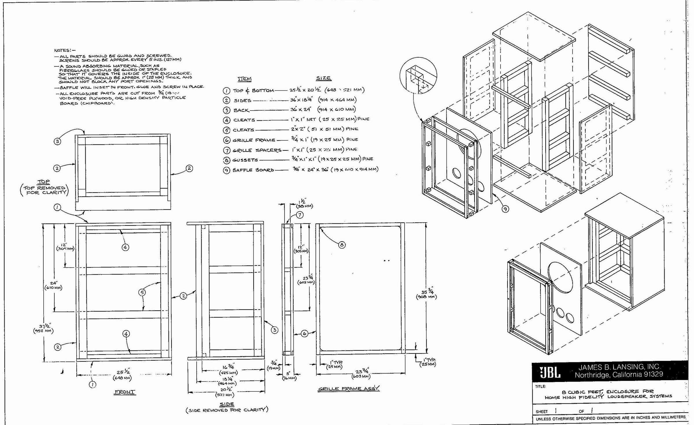 Built In Cabinets Plans Woodworking