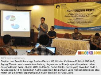 Evaluasi Arus Mudik 2014