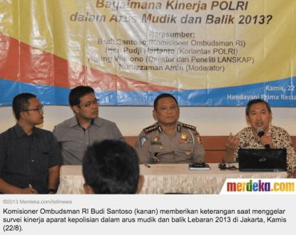 Diskusi LANSKAP dengan Wartawan