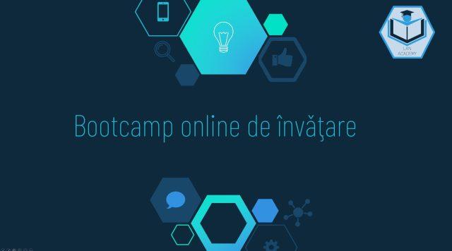 Bootcamp online de invatare in programare