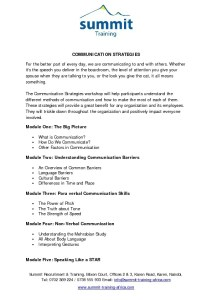 thumbnail of Communication Strategies