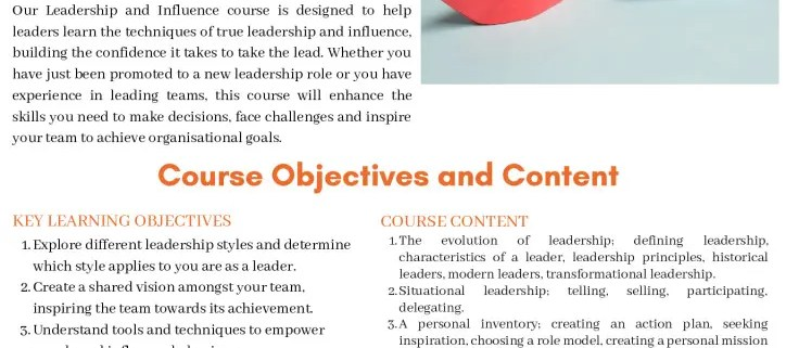 thumbnail of leadership and influence