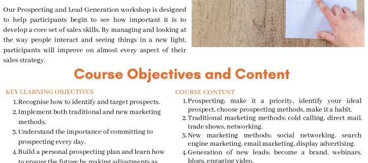 thumbnail of prospecting and lead generation