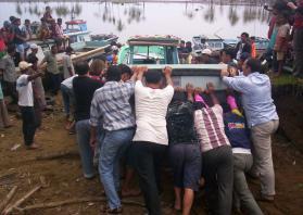 Boat launching