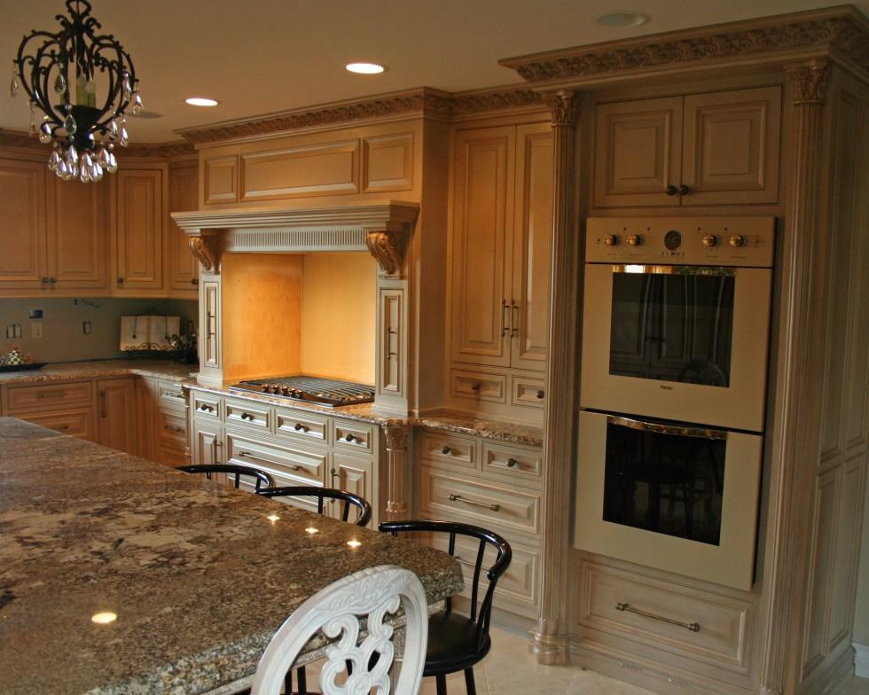 Ornate Kitchen Cabinets | Lantz Custom Woodworking