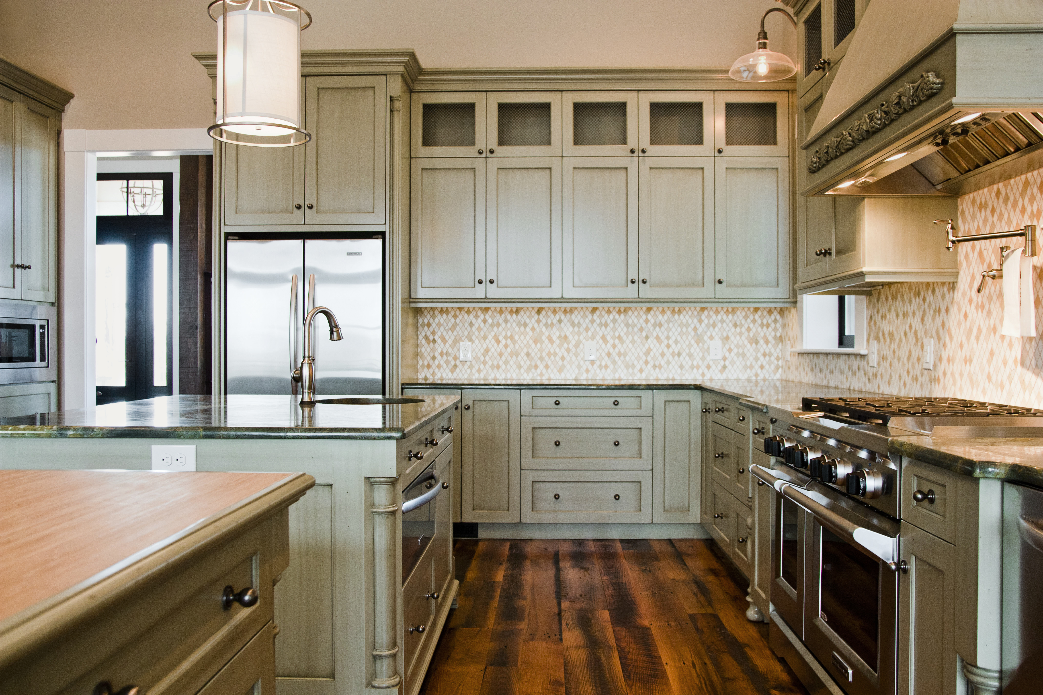 Slonaker Residence Cabinets by Lantz Custom Woodworking