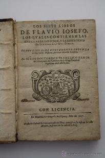 Siete libros de Flavio Josefo