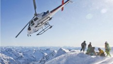 Heliski. Gressoney Mt. Rosa.