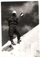 M.Herzog at Annapurna summit