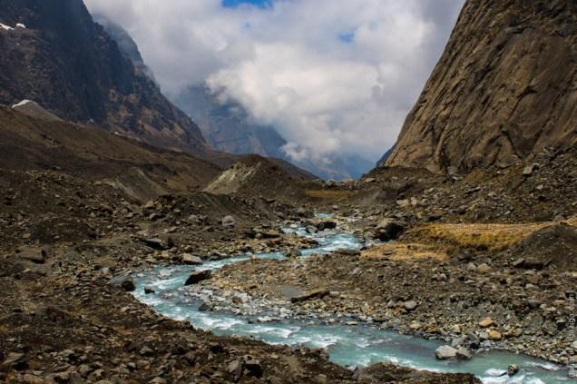 Miristi Khola river
