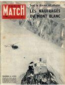 Portada de Paris Match sobre el caso 'Los náufragos del Mont Blanc'