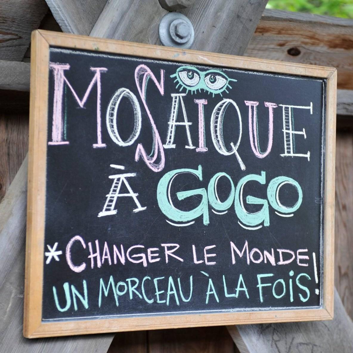 Mosaique à gogo/Isabelle Gauthier
