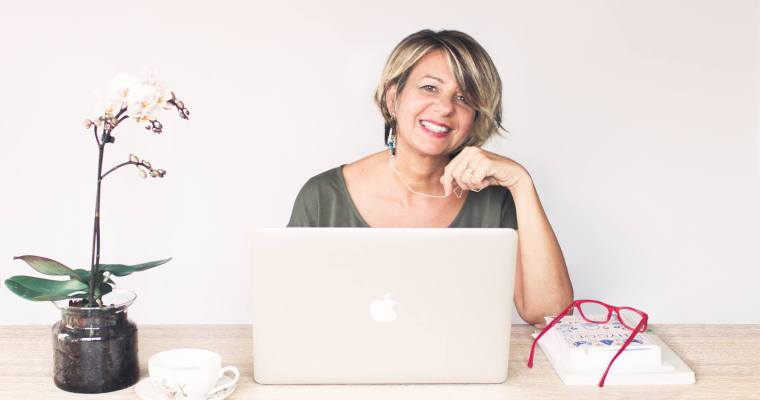 Studiare e mettersi in proprio a 40 anni: Michilab, la signora dei colori