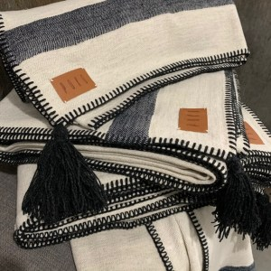 Chelsea Linen and Cotton Throw