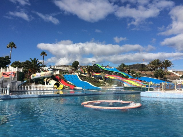 Aquapark Slides